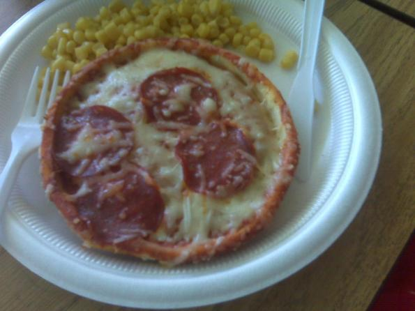 School Lunch - Pepperoni Pizza
